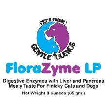 FloraZyme LP pancreatic derived enzyme supplement for dogs and cats